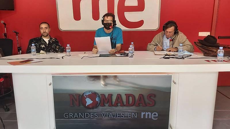 Nómadas - La vuelta al mundo en 80 años: Feria del libro de Madrid - 25/09/21 - escuchar ahora