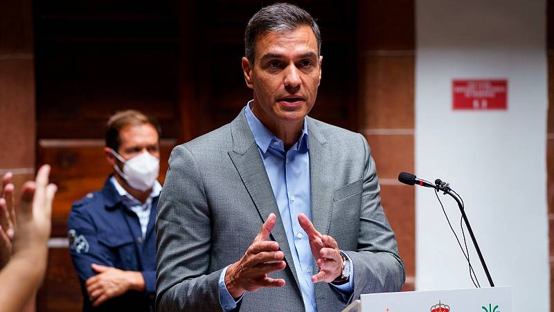 14 horas - Sánchez dice que Puigdemont tiene que comparecer ante la justicia y reitera su compromiso con la mesa de diálogo - Escuchar ahora