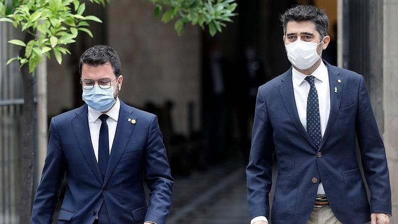 14 horas - Aragonès pide la libertad de Puigdemont - Escuchar ahora