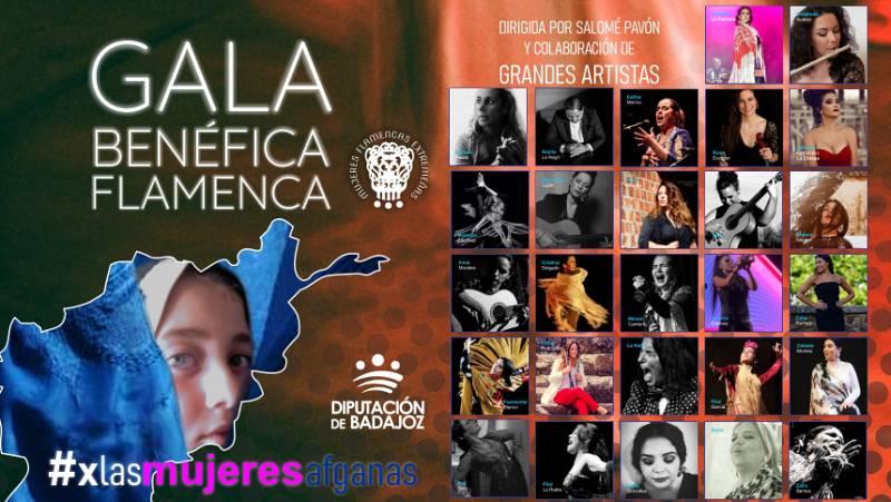 Gitanos - Salomé Pavón y sus flamencas por Afganistán - 26/09/21 - escuchar ahora