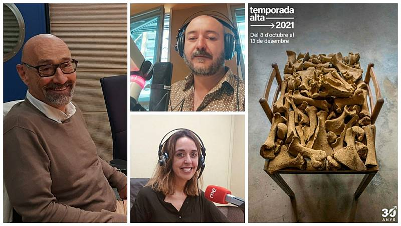 La sala - XXX Temporada Alta de Girona: Clàudia Cedó, Josep María Miró, Salvador Sunyer - 28/09/21 - Escuchar ahora