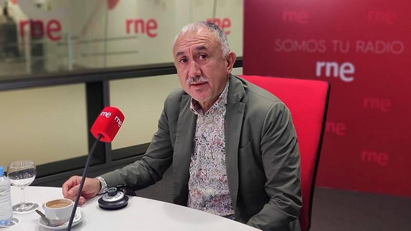 """Las mañanas de RNE con Iñigo Alfonso - Pepe Álvarez, UGT: """"Es un acuerdo positivo, pero habrá dificultades con la formación"""" - Escuchar ahora"""