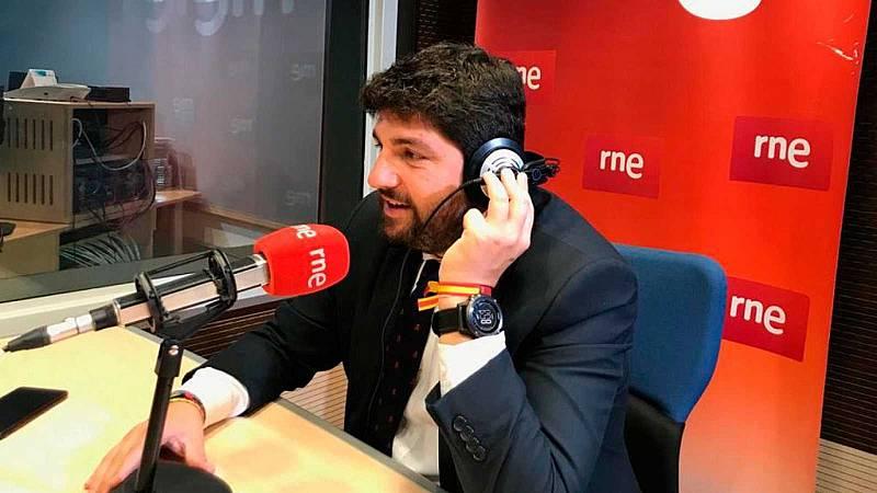 """Las mañanas de RNE con Íñigo Alfonso - López Miras rechaza la descentralización del Estado: """"La despoblación no se arregla con un edificio público"""" - Escuchar ahora"""