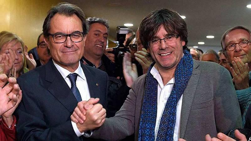 14 horas - El Tribunal de Cuentas rechaza el aval del Govern: Puigdemont, Junqueras y Mas, a un paso del embargo - Escuchar ahora