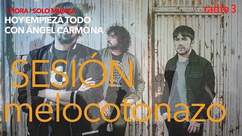 Hoy empieza todo con Ángel Carmona - #SesiónMelocotonazo: Lori Meyers, Leon Benavente, Flamingo Tours...- 18/10/21 - escuchar ahora