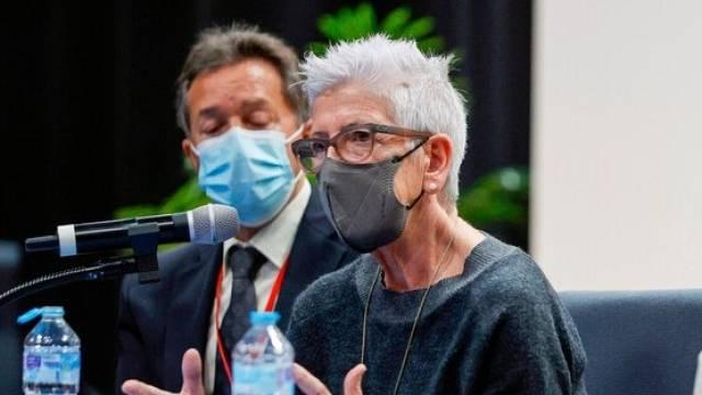 Entrevista l'activista basca Maixabel Lasa