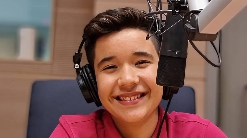 Patio de Voces - Levi Díaz: la voz de Eurovisión Junior - 23/10/21 - Escuchar ahora