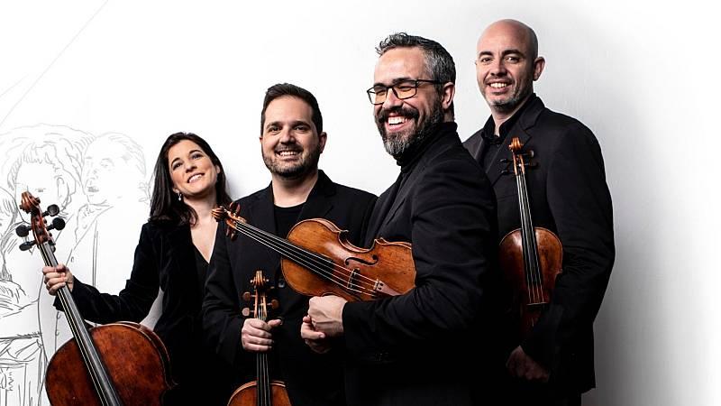Café Zimmermann - Cuarteto Quiroga: Und es ward Licht! - 22/10/21 - escuchar ahora