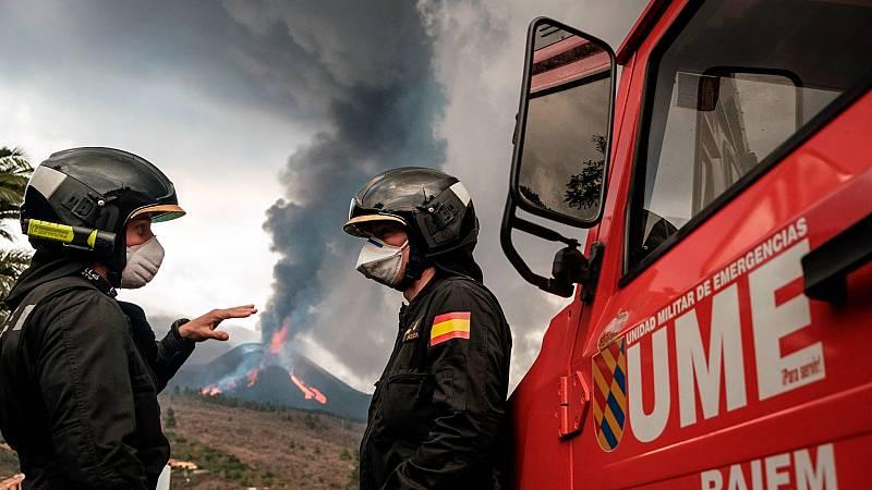 Boletines RNE - Nuevo colapso del cono del volcán de La Palma - Escuchar ahora