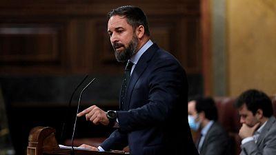 Boletines RNE - Abascal (VOX) anuncia una moción de censura contra Sánchez en septiembre - Escuchar ahora