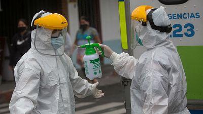 24 horas - En algún lugar de la ciencia - ¿Cómo se propagó el coronavirus? - Escuchar ahora