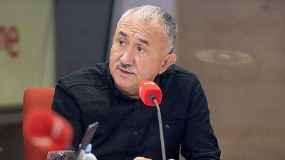 """Las Mañanas de RNE con Íñigo Alfonso - Álvarez está """"convencido"""" de que la negociación de los ERTE acabará en acuerdo - Escuchar ahora"""