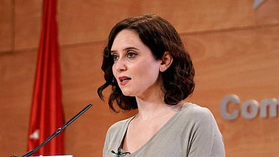 Boletines RNE - Ayuso anuncia que no cerrará Madrid durante las Navidades - Escuchar ahora