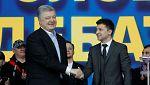 El cómico Zelenski gana las elecciones en Ucrania