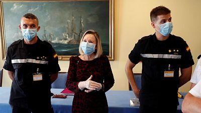 14 horas - Comunidad Valenciana, Cantabria y Murcia solicitan la ayuda de los rastreadores del Ejército - Escuchar ahora
