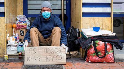 14 horas - Confinados en la calle: la vida de las personas sin techo durante la pandemia - Escuchar ahora