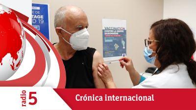 Crónica internacional - Los 27 quieren acelerar la vacunación - Escuchar ahora