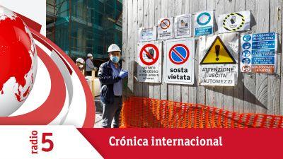 Crónica internacional - Cuatro millones y medio de italianos vuelven hoy al trabajo - Escuchar ahora