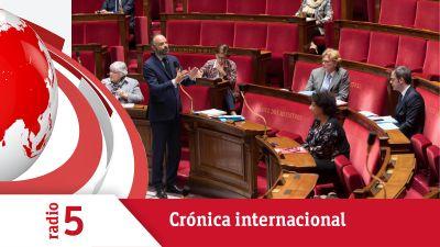 Crónica internacional - Debate político en Francia por el plan de desescalada del gobierno - Escuchar ahora