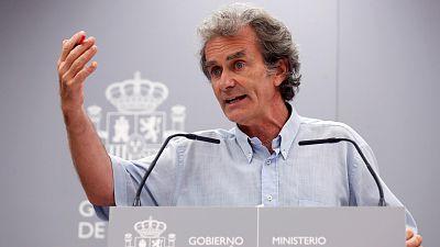 Boletines RNE - Descienden los contagios a falta de los datos de Madrid, Navarra y Cataluña - Escuchar ahora