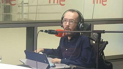 """Las mañanas de RNE con Íñigo Alfonso - Echenique: """"Hasta ahora los intentos de articular mayorías con Cs han fracasado"""" - Escuchar ahora"""