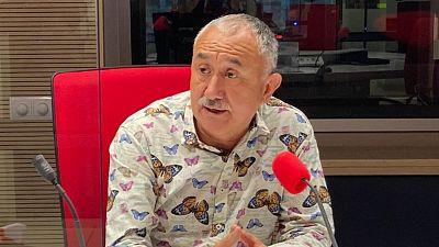 """24 horas - Pepe Álvarez (UGT): """"La situación del IMV es irreal y se debe pagar de manera inmediata por humanidad"""" - Escuchar ahora"""