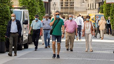 Boletines RNE - España se queda cerca de registrar medio millón de casos de COVID-19 - Escuchar ahora