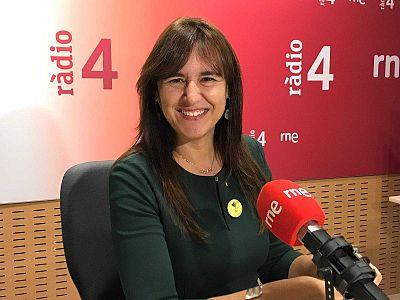 Gemma Nierga entrevista Laura Borràs 07/04/20