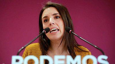 """Las mañanas de RNE con Íñigo Alfonso - Un gobierno de coalición PSOE-UP, """"el único que puede garantizar estabilidad"""" según Irene Montero - Escuchar ahora"""