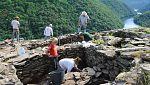 Hallan restos prehistóricos en la Ribeira Sacra