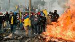 Indígenas y Gobierno inician diálogo en medio de protestas en Ecuador