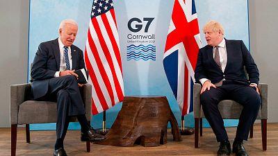 Más cerca - Los líderes del G7 se reúnen para abordar la recuperación - Escuchar ahora