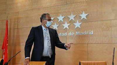 14 horas - Madrid asume que los alumnos de Secundaria y Bachillerato no irán a clase todos los días - Escuchar ahora