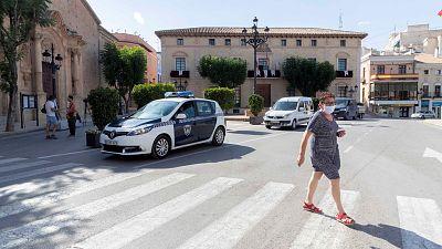 Boletines RNE - Murcia retrasa el inicio de curso presencial en tres municipios ante el aumento de contagios - Escuchar ahora