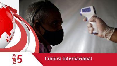 """Crónica Internacional - OMS: """"La pandemia se acelera y no hemos alcanzado el pico"""""""