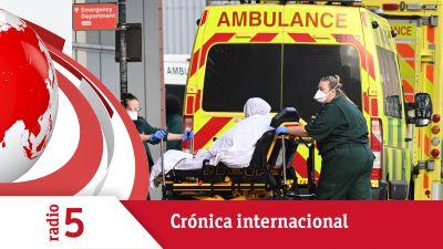 Crónica internacional - El Reino Unido, desbordado por el nivel de contagios - Escuchar ahora