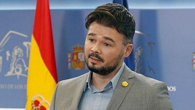 """Las mañanas de RNE con Íñigo Alfonso - Rufián cree que """"vale la pena intentar un acuerdo"""" para aprobar los Presupuestos"""