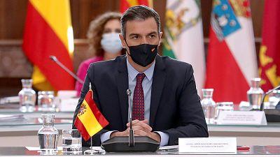 14 horas - Conferencia de presidentes en La Rioja: Sánchez coordinará las ayudas europeas para las comunidades - Escuchar ahora