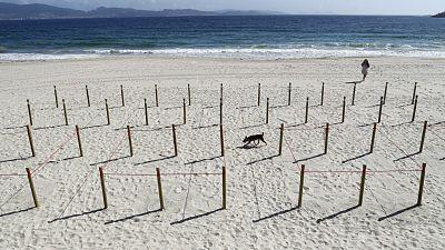 Las mañanas de RNE con Íñigo Alfonso - Sanxenxo dividirá la playa de Silgar en cuadrículas y reducirá su aforo al 75% - Escucha ahora