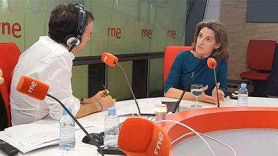 """Las mañanas de RNE con Íñigo Alfonso - Teresa Ribera: """"Sabemos lo que tenemos que hacer y sin embargo no actuamos a la velocidad necesaria"""" - Escuchar ahora"""