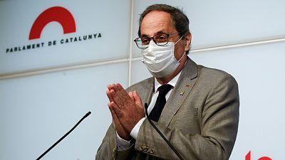 14 horas - La Generalitat recomienda no viajar a Madrid y controlará a los viajeros procedentes de la capital - Escuchar ahora