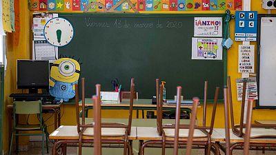 """14 horas - Vicent Mañés, profesor: """"No estamos tranquilos; si pasa algo en los centros nosotros somos los responsables"""" - Escuchar ahora"""