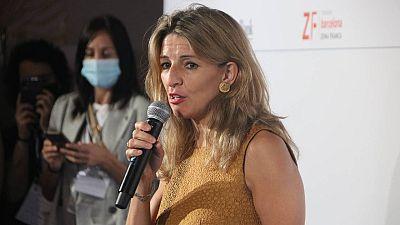 Yolanda Díaz aposta per reformar el mercat de treball