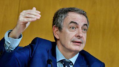 """Las Mañanas de RNE con Íñigo Alfonso -  Zapatero defiende la gestión del Gobierno """"en la situación más difícil desde la Transición"""" - Escuchar ahora"""