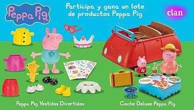 Concurso ¡Las aventuras de Peppa Pig!