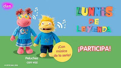 Concurso ¡Canta y baila este verano con los peluches de los Lunnis!