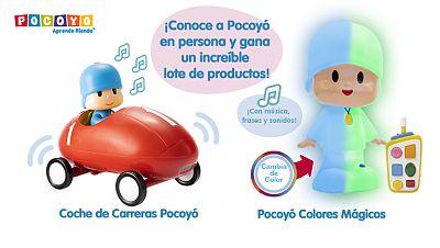 Concurso ¡Conoce a Pocoyó en persona y gana un montón de premios!