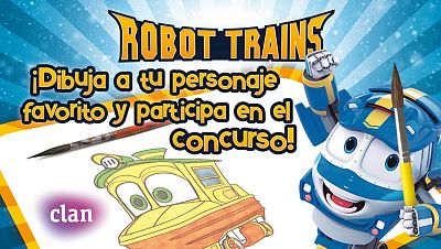 Concurso ¡Dibuja y gana premios con los héroes Robot Trains!