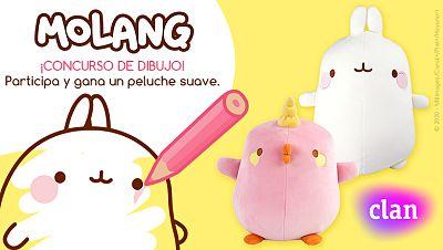 Concurso ¡Dibuja a Molang y consigue tu peluche extra suave!