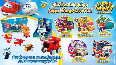 Concurso ¡Elige tu equipo Super Wings favorito y gana!